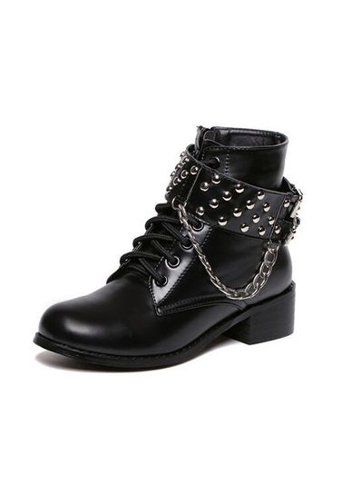 Funky Studded Boots - KP001530