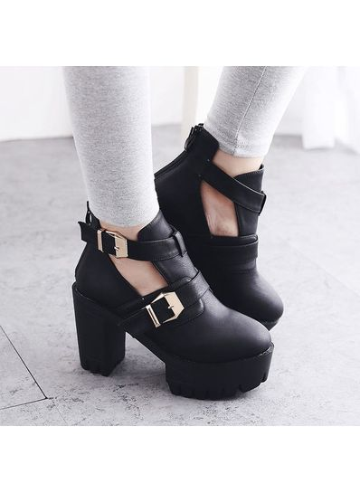 Cute Platform Boot - KP001531