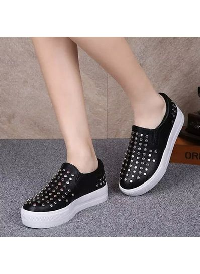 Studded Loafers - KP001532