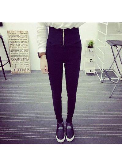 High Waist Korean Skinny pants -KP001541