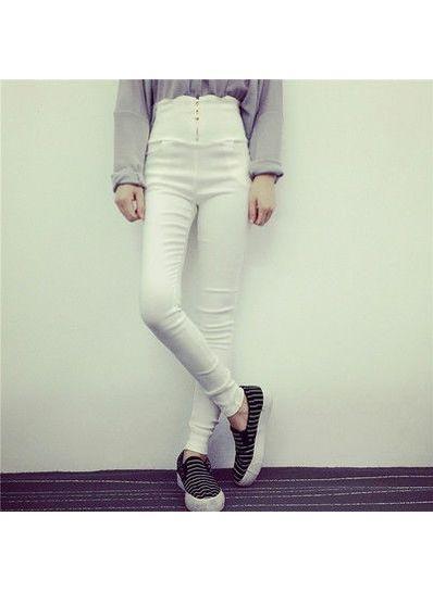 High Waist Korean Skinny pants -KP001542