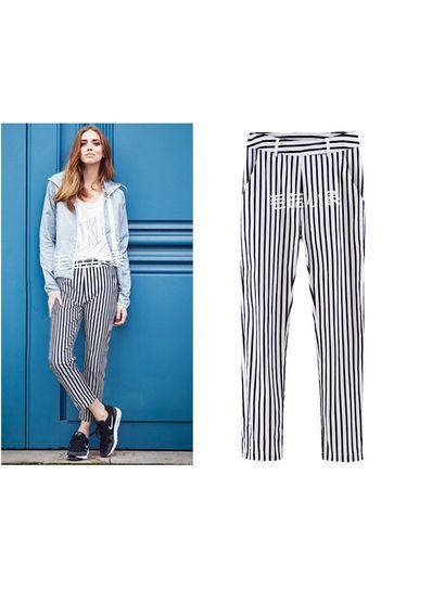 Stripped Pants - KP001545