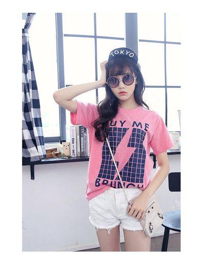 Buy Me Brunch Pink T-shirt - KP001590