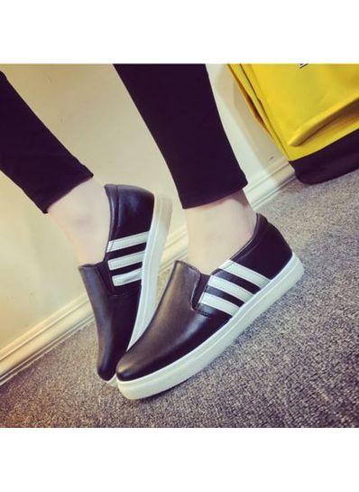 Popular Design Strip Loafers - KP001686