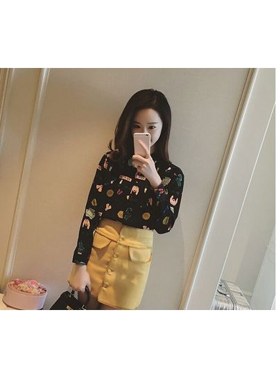 Cute Printed Shirt - KP001704