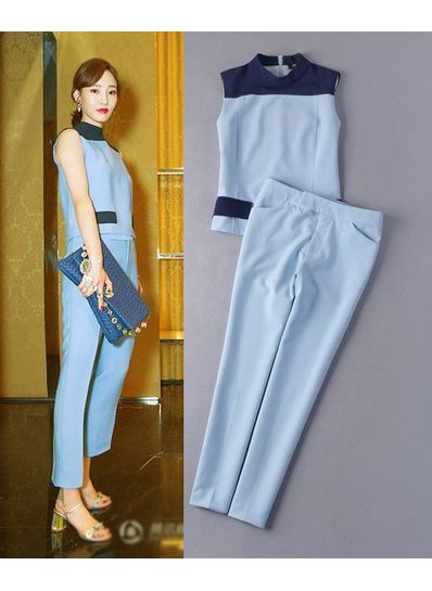 High Quality Skinny Pants with Top - KP001728