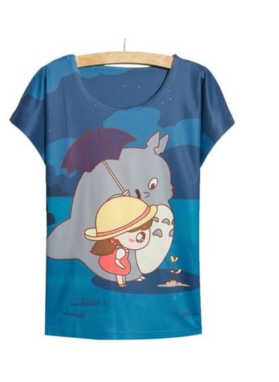 Cute Girl Printed Tee - KP001774