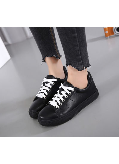 Cute Lace Up Sneakers - KP001819
