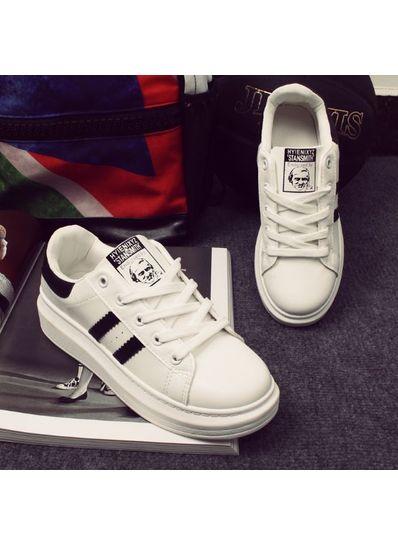 Popular Design Stripe Sneakers - KP001820