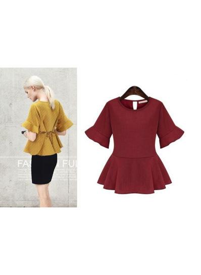 Korean Style Summer Blouse - KP001861