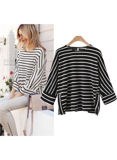Stylish Stripped Top - KP001873