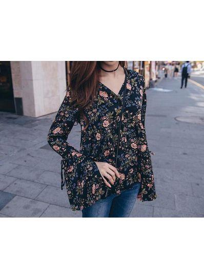 Summer Floral Top - KP001879