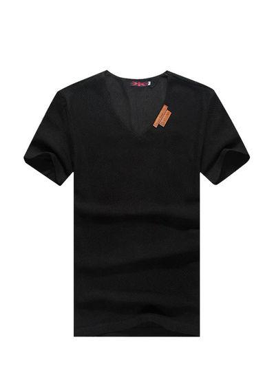V- Neck Regular T-shirt - KP001913