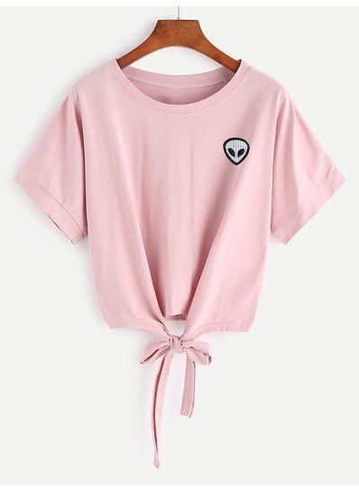 Cute Pink Crop Top - KP001960
