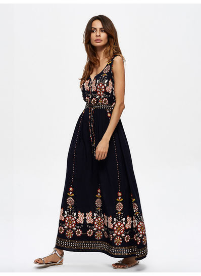 Beautiful Printed Maxi - KP001982