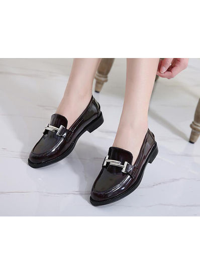 Round Flat Shoes - KP002036