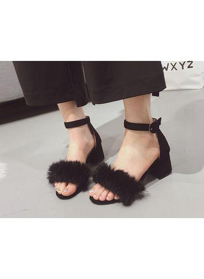 Fur Sandals - KP002045