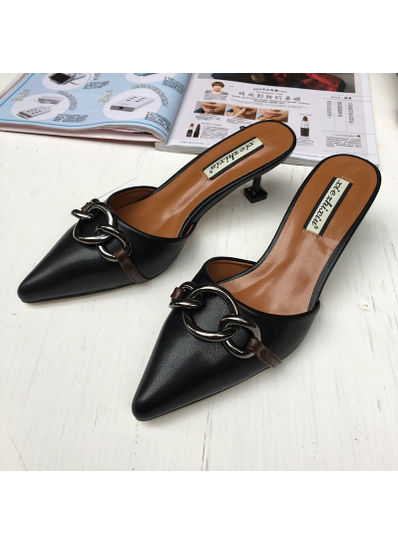 Pointed Toe Slippers - KP002060