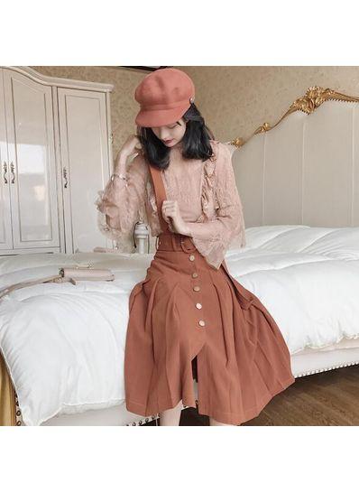 Overall Maxi Skirt - KP002063