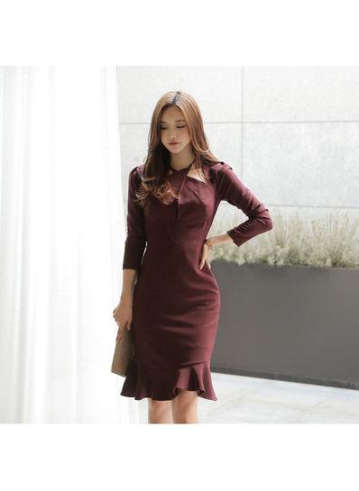 Beautiful Flouncing Dress - KP002075