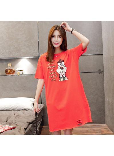 Goofy Cut Out T-shirt - KP002095