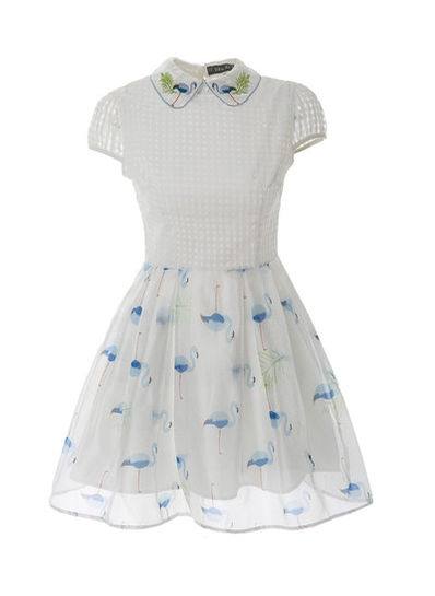 Doll Collar Cute Dress - KP002106