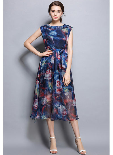 Gorgeous Floral Dress - KP002113