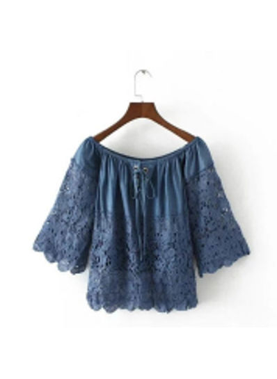 High Quality Lace Blouse - KP002152