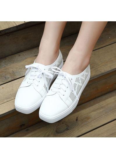 Square Toe Sneakers - KP002179