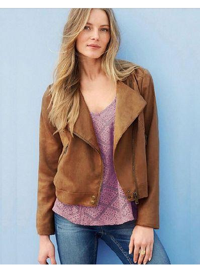 Khaki Tassel Design Jacket