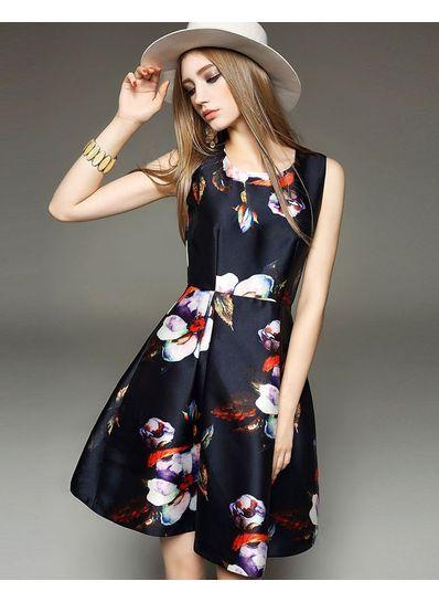 Cute Floral Party Dress