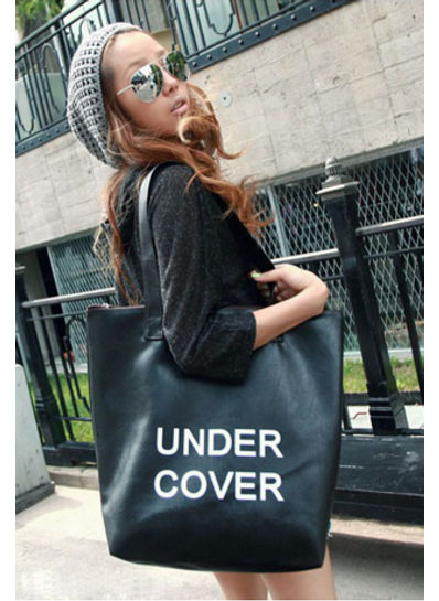 Under Cover Tote Bag in 8 Colors - KP001565
