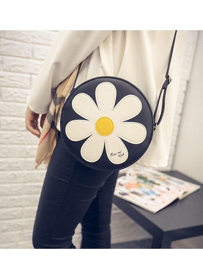 Cute Floral Design Sling Bag - KP001557