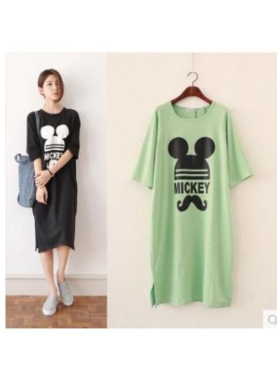 Mickey long t-shirt Dress - KP002163