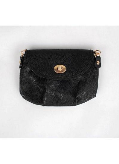 Cute Solid Color Sling Bag