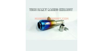 MXS2214 Tech Hardy Titanium Stage - 1 Racing  Exhaust muffler silencer