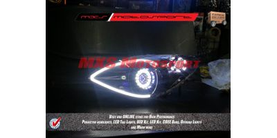MXSHL167 Projector Headlights Hyundai i20 with audi style DRL