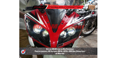 MXSHL188 Projector Headlight Yamaha R15 v2
