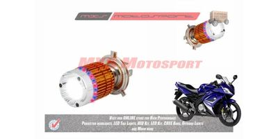 MXS2186 White 3CREE LED HID Type Headlamp Bulb For Yamaha YZF R15 Old Pair