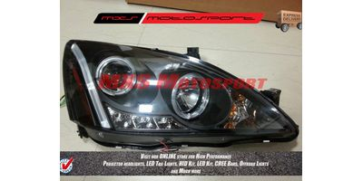 MXSHL78 Honda Accord Old Version Projector Headlights Day Running Light