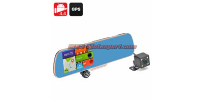 MXS2364 Android 4.4 DVR + Parking Camera Gold Vision II- 5 Inch Touch Screen Display