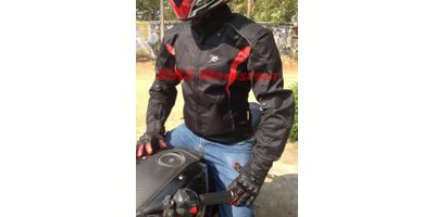 MXS1976 Aspida - Atlas Red Riding Jacket By MXS Motosport