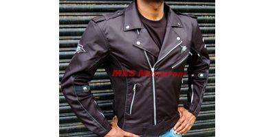 MXS1977 ASPIDA Chronos Mesh & Textile Riding Jacket