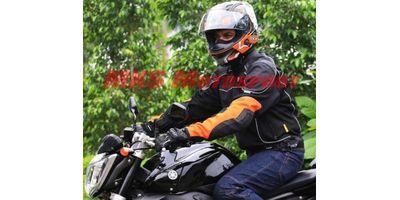 MXS1981 ASPIDA Helios Classic Mesh Jacket Orange