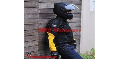 MXS1983 ASPIDA Nemesis Mesh Jacket Yellow By MXS Motosport