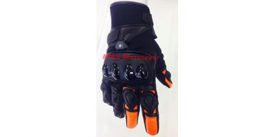 MXS1971 Aspida- Phaeton Orange Biking Gloves