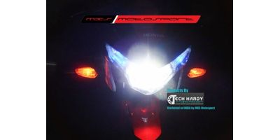 MXS- High end HID kit with true AC Blaster for Honda CBR250R
