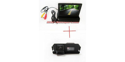 MXS2365 CCD Color Car Reverse Rear View License Plate Light Parking Back Up Camera for H