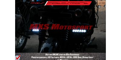 MXSORL05 MXS Motosport High Performance Cree LED Flood Lamp Fog Lamp Bajaj Avenger (Pair)