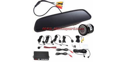 MXS2366 Complete Car Reverse Parking Assistance Kit Camera + 4 Video Sensors + 4. LCD